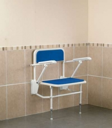Wall Mounted Shower Seat Extra Wide Bariatric