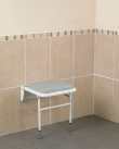 Wall Mounted Padded Shower Seat