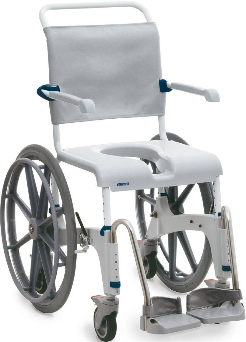 Aquatec Self Propelled Shower And Commode Wheelchair