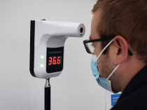 Infrared Thermometer Wall Mounted / With Tripod