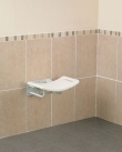Wall Mounted Curved Shower Seat