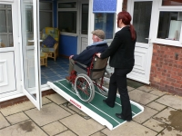 Wheelchair and Scooter Ramp