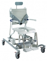 Aquatec Adjustable Tilt in Space Shower and Commode Chair