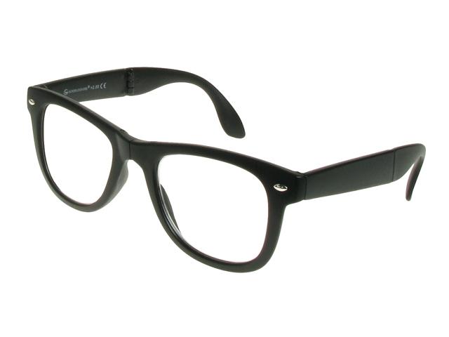 Eyeglass Frame Board Management : Folding Pocket Specs Matt Black Frame Reading Glasses