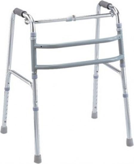 Reciprocal walking frame with foam handle grips for Zimmer accessoires