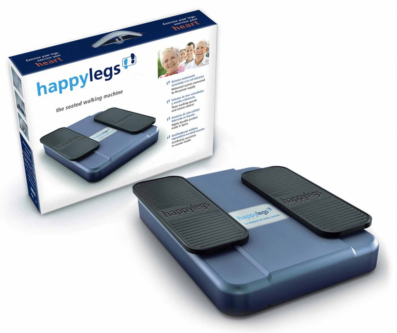 Home Exercise Equipment For Disabled: Happy Legs Seated Walking Machine For Gentle Exercise