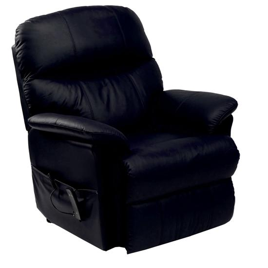 Lars Leather Rise And Recline Electric Armchair