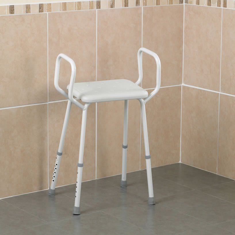 Lightweight Shower Perching Stool Portable And Safe