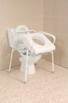 Uplift Toilet Seat / Commode