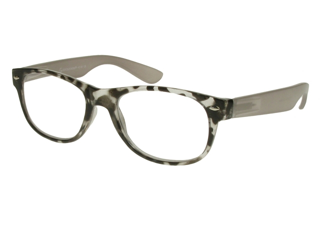 Gray Frame Reading Glasses : Camden Grey Frame Reading Glasses With Carry Pouch