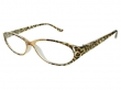 Lynx Brown Frame Reading Glasses