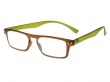 Mod Brown And Green Frame Reading Glasses