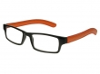Prague Black And Orange Frame Reading Glasses