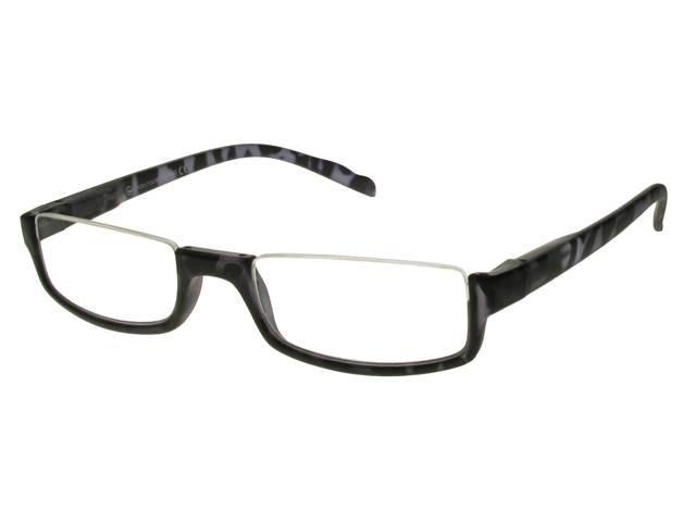 Gray Frame Reading Glasses : Sloane Black/Grey Frame Reading Glasses