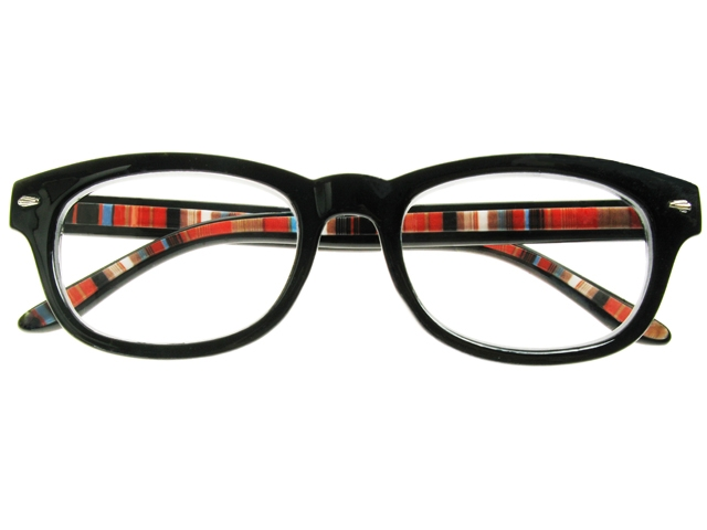 Eyeglass Frame Board Management : Tate Black Frame Reading Glasses With Carry Pouch.