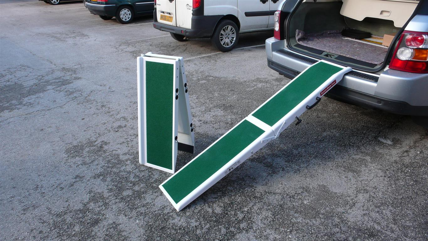 Split Scooter Wheelchair Mobility Ramp