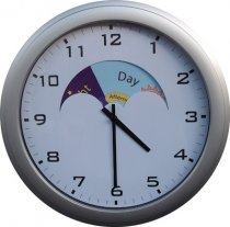 Analogue Dementia Care Day / Night Clock