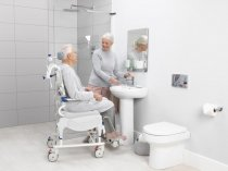 Aquatec Ocean VIP Ergo Shower Chair Commode