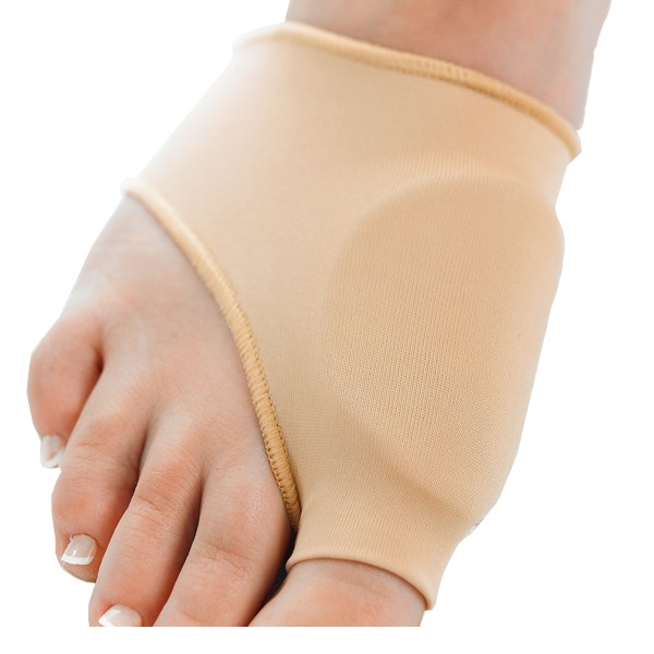 Gel bunion relief sleeve protection for the bunion area