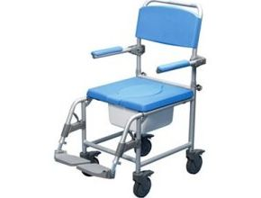 Deluxe Shower Commode Chair Transit