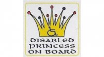 Disabled Princess On Board