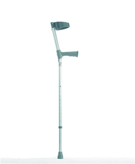 Double Adjustable Crutches-Extra Long Standard Handle