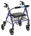 Four Wheel Heavy Duty Rollator