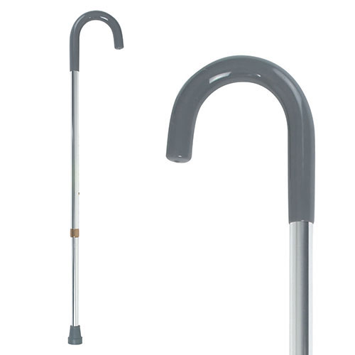 Heavy Duty Crook Handle Walking Stick