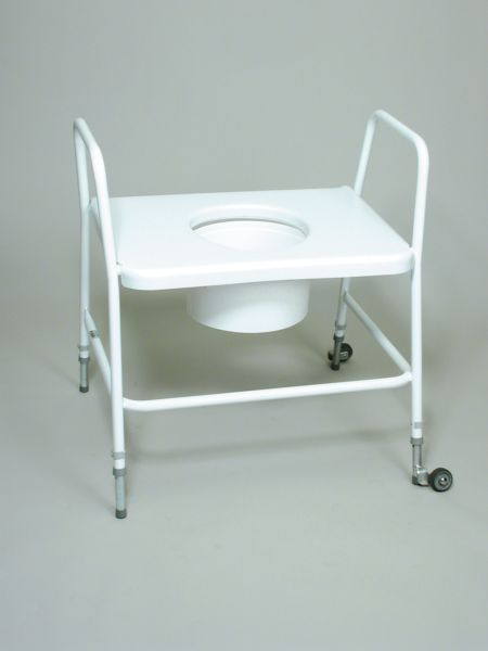 Heavy Duty Extra Wide Toilet Frame