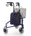 Three Wheel Lightweight Steel Walker