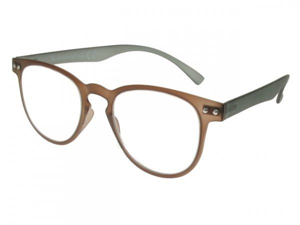 Kent Brown And Grey Frame Reading Glasses