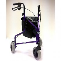 Lightweight Aluminium Tri Wheel Walker 1