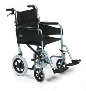 Lightweight Transit Wheelchair With Attendant Brakes