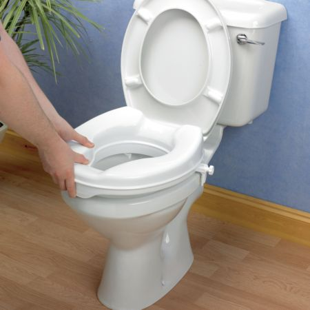 Savanah Raised Toilet Seat Without Lid