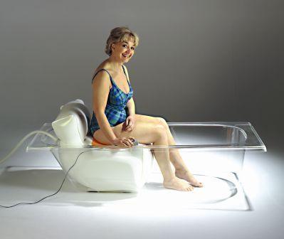 Bath Buddy Inflatable Bath Lift Makes Bathing Easy