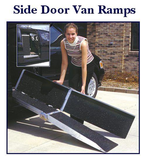 Side Door Van Ramp For Wheelchairs And Scooters