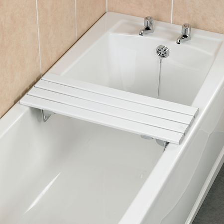 Savanah Slatted Bath Board With Or Without Handle