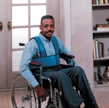Wheelchair Scooter Foam Torso Support Stops Slumping