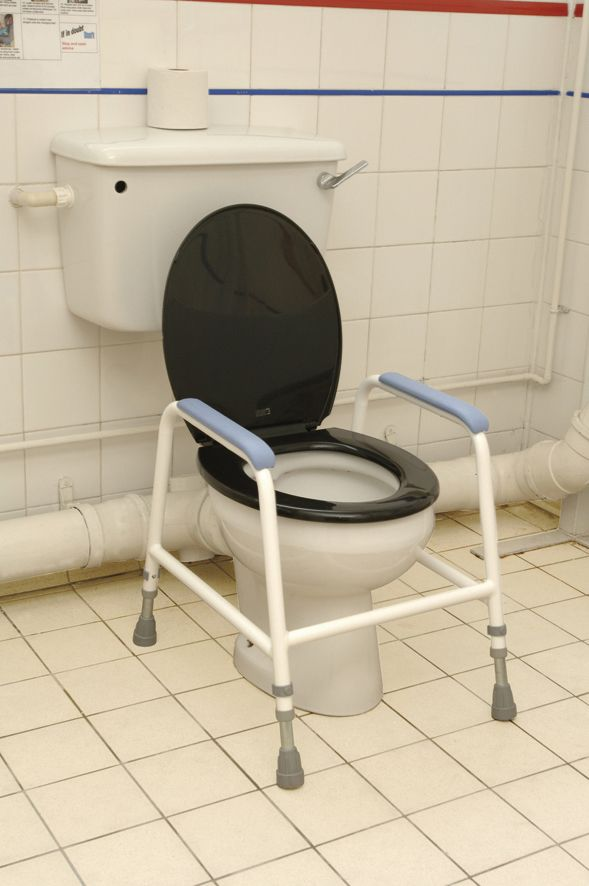 Childrens Toilet Frame With Slip Resistant Ferrules