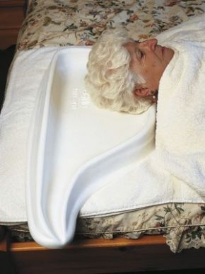 Hair Washing Tray for Bed