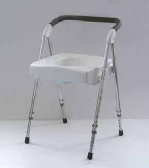 Voyager Folding Commode Seat (Commode with pan)