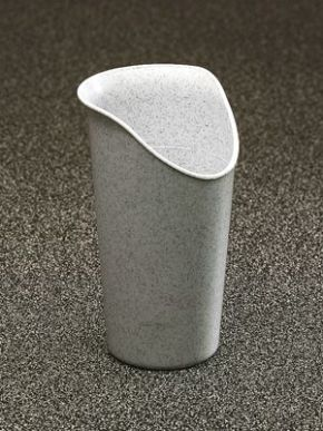 Cup With Nose Cut-Out