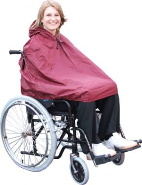 Wheelchair Kozze Kape Without Sleeves