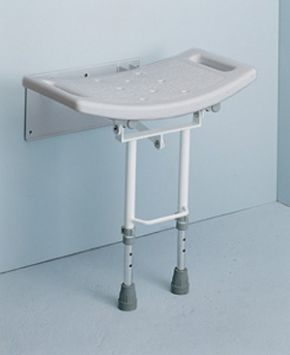 Wall Mounted Shower Seat With Legs