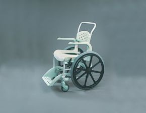Self Propelled Shower and Commode Wheelchair
