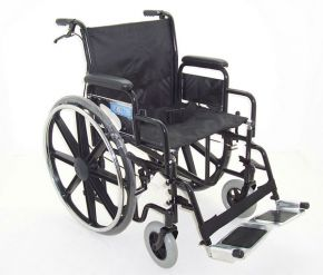 Heavy Duty Self-Propelled Wheelchair with Mag Wheels