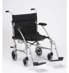 Lightweight Folding Travel Wheelchair With Bag