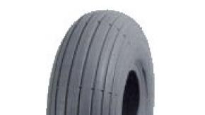 Infilled Puncture Proof Mobility Scooter Lined Rib Tyre