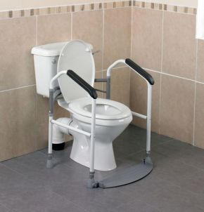 Buckingham Foldeasy Toilet Surround- Folding