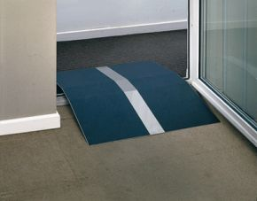 Door Frame Threshold Ramp for Wheelchairs and Scooters